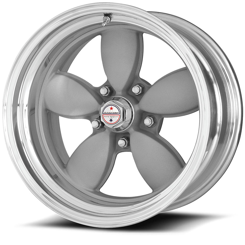 HOTROD 200S SILVER W/ POLISHED LIP (price per wheel)