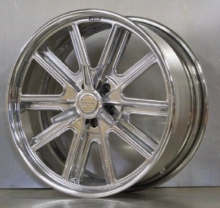 20s 407S set of 4 fully polished for Mustang 05-17