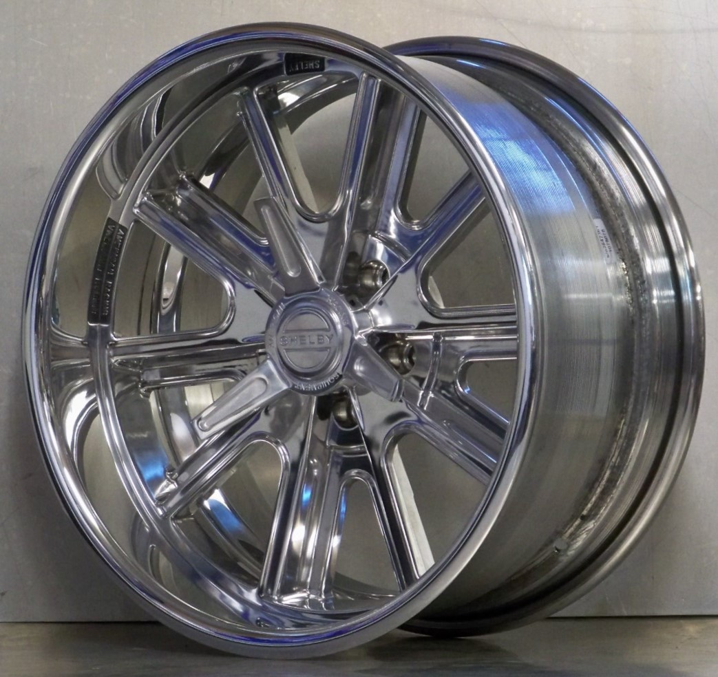 .VN407SP Shelby fully polished / spinners (price shown per wheel