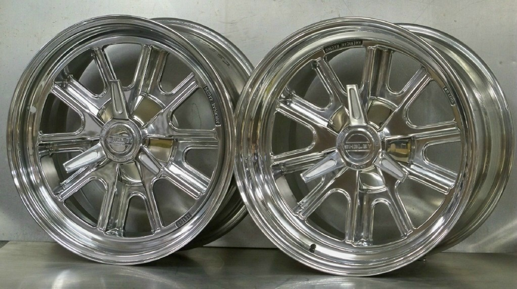 17s 427 polished set for FF Mk3/4