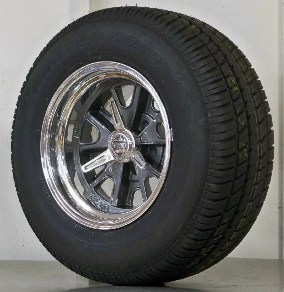 15 Inch Tires >> Wheel And Tire Packages 15 Inch Vintage Wheels Mustang Hot Rod