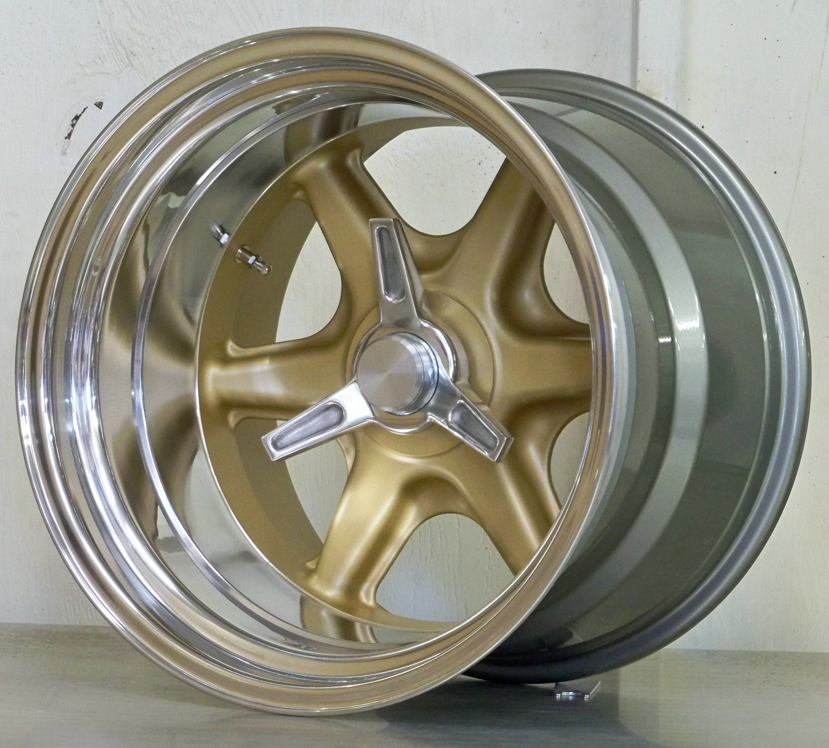 BR17 x 12.5 vintage mag gold centers POA
