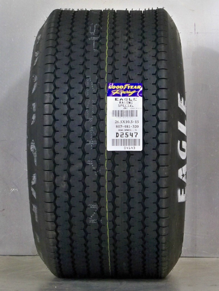 Goodyear Eagle Billboard 26.5/10.5/15 Cobra Rear tire