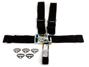 seat belts original pattern 5 point- lap, shoulder and sub each