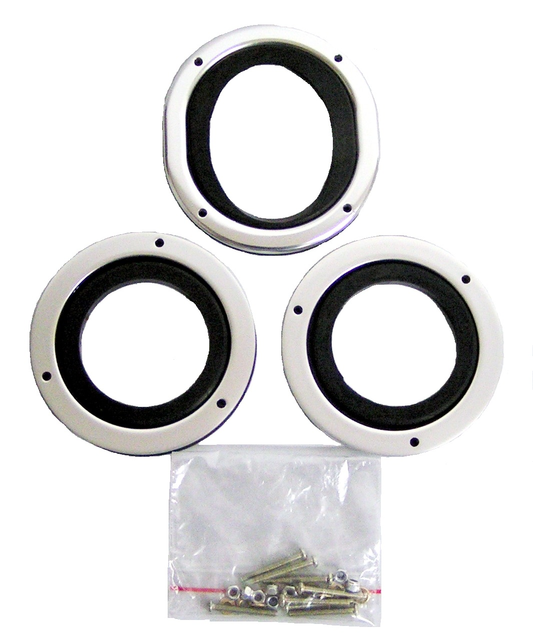 roll bar bezel and grommets kit