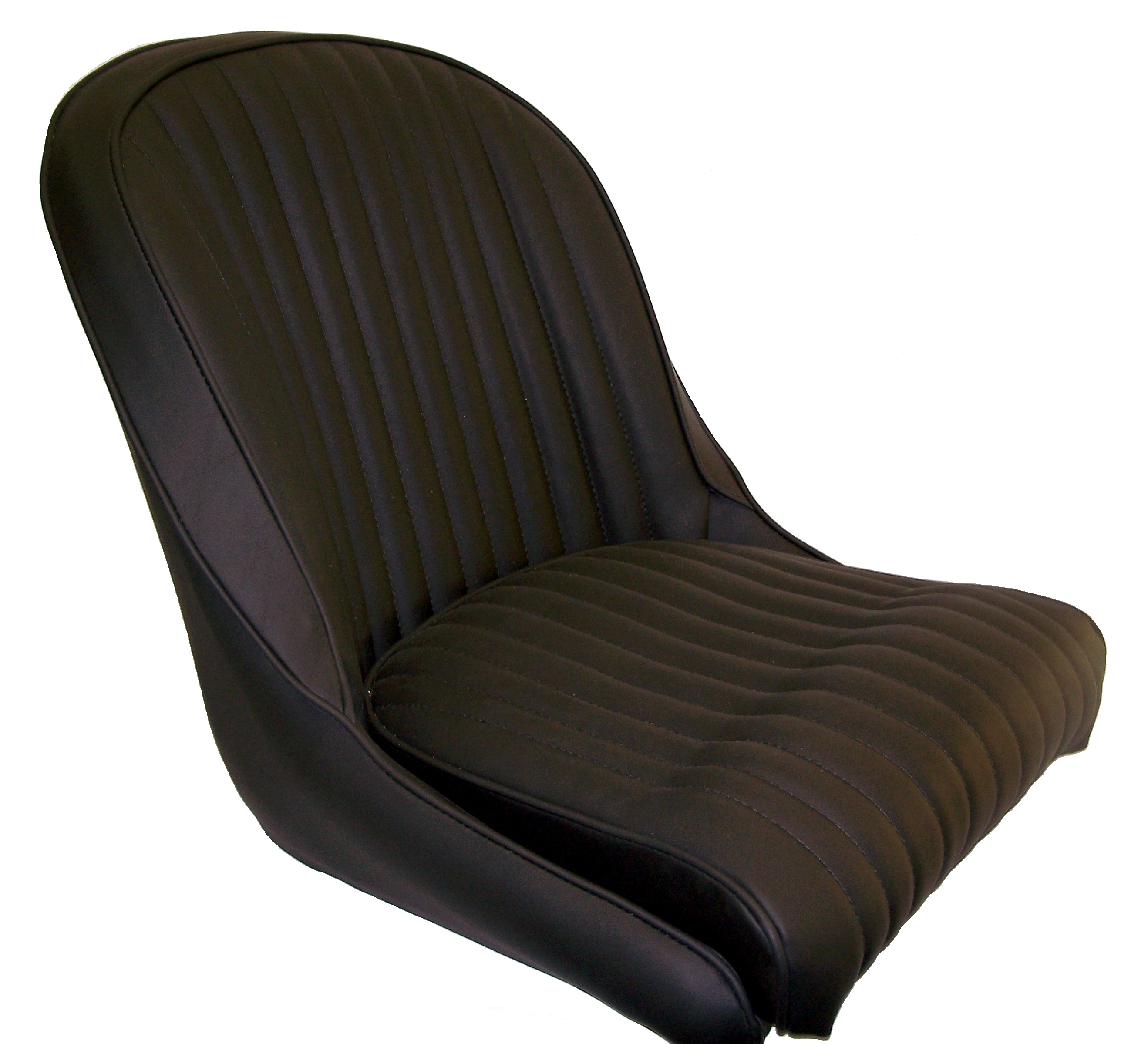 seat upholstered leather each