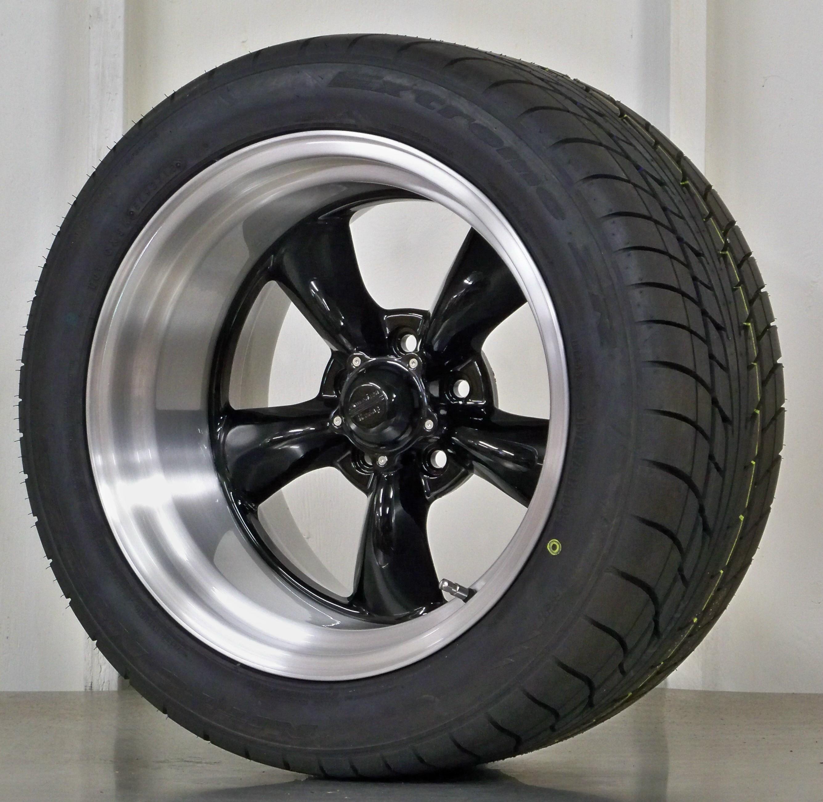 Torq Thrust 11 17 Brushed Black Nt555 Vintage Wheels