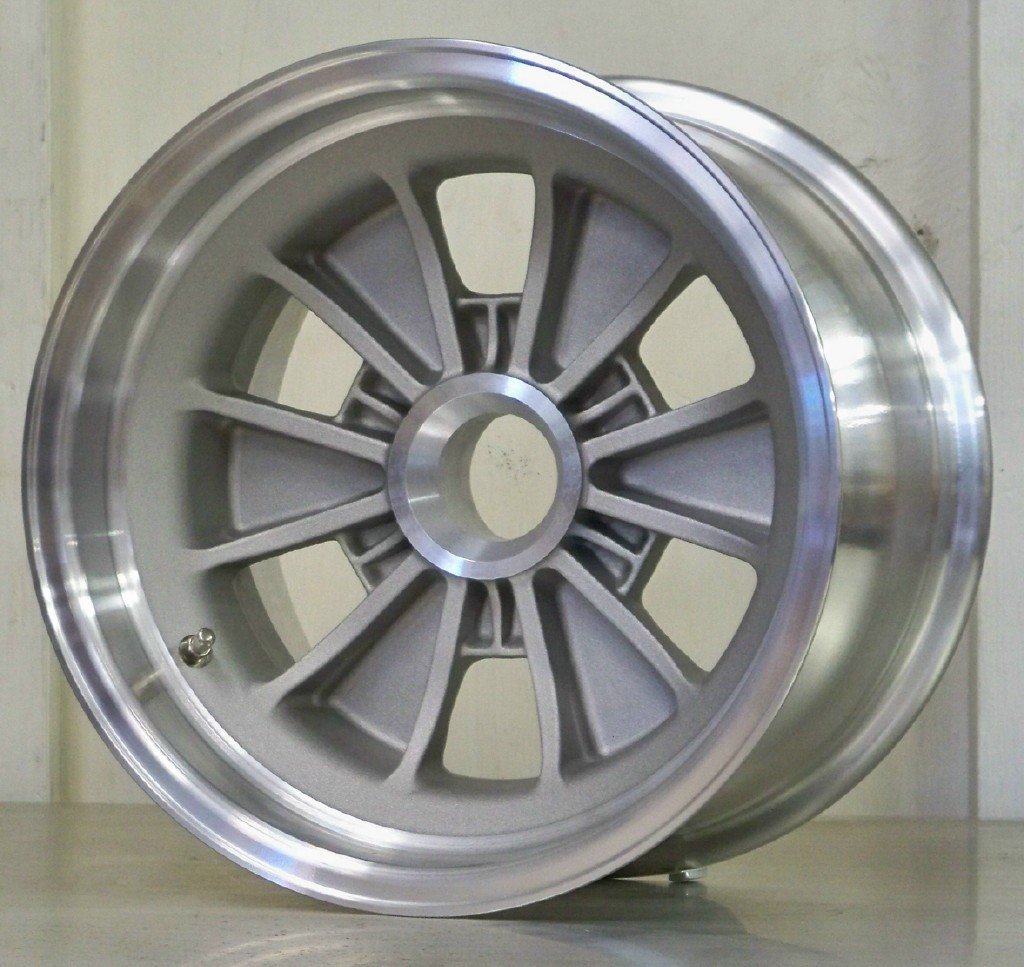 FIA 15 x 9.5 6 pin cast finish