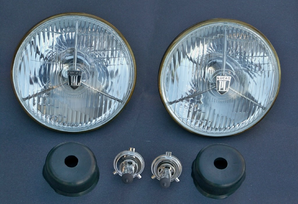 .Lucas Tripod headlights PL700 PAIR