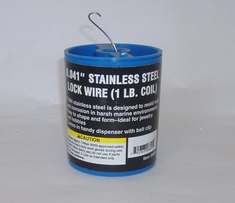 Stainless steel lock wire