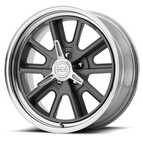 .427 Shelby 5 lug wheels including spinners