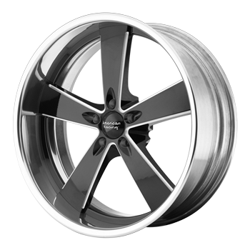 Pro Touring Muscle Car Vintage Wheels Mustang Hot Rod And