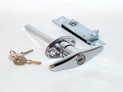 Trunk Handle + Keys + Latch (set)