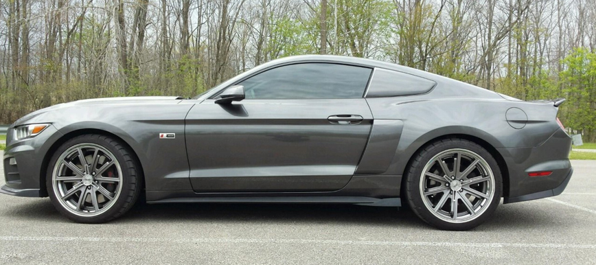 GT500 with 20 inch wheels