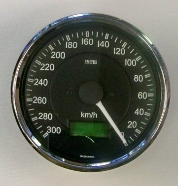 Smiths Speedometer Counter Clockwise KPH