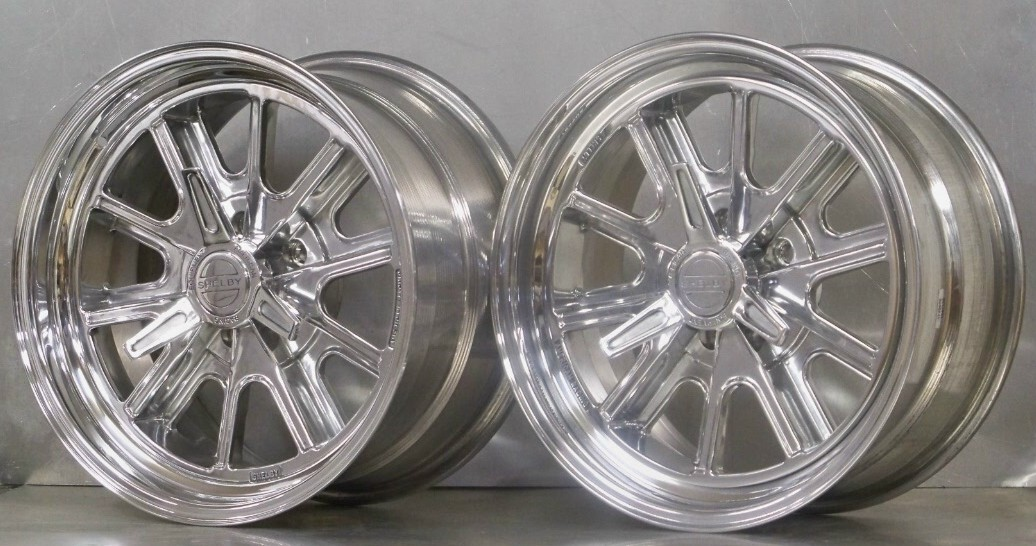 17s SET of 4 - 427 Eleanor full polish 67-73 Mustang