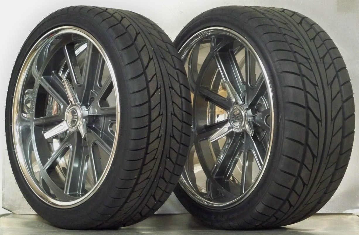 69 Shelby Cobra >> WHEEL AND TIRE PACKAGES 20 INCH : Vintage Wheels, Mustang, Hot Rod and Muscle Car