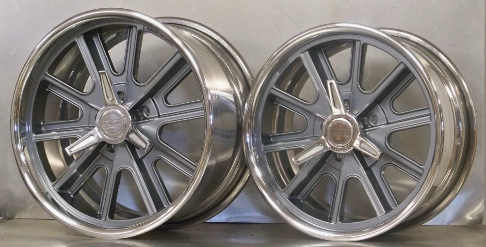 17s 18s RAKED SET OF 4 407S Shelby 65/73 Mustang