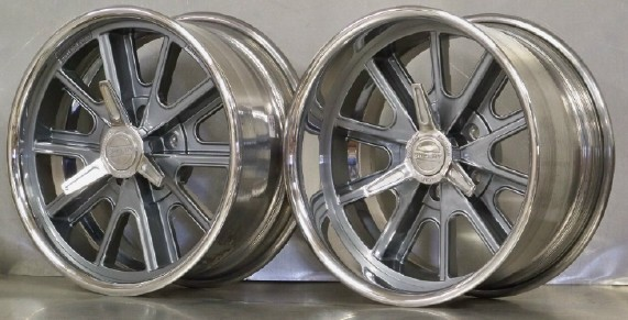 17s SET of 4 407S 17x7/8 Shelby for 65- 66 Mustang