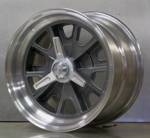 15s 427 pin drive 15x8 15x10 gray FLAT rims adapters spinners
