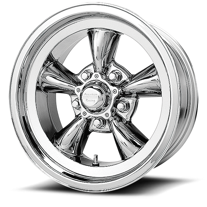 VN605 VINTAGE TORQ THRUST D CHROME (price per wheel)