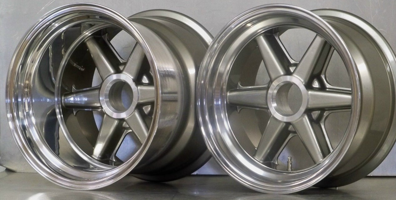 BR02 6 pin wide rear 15 x 8 15 x 12 set of 4 wheels only