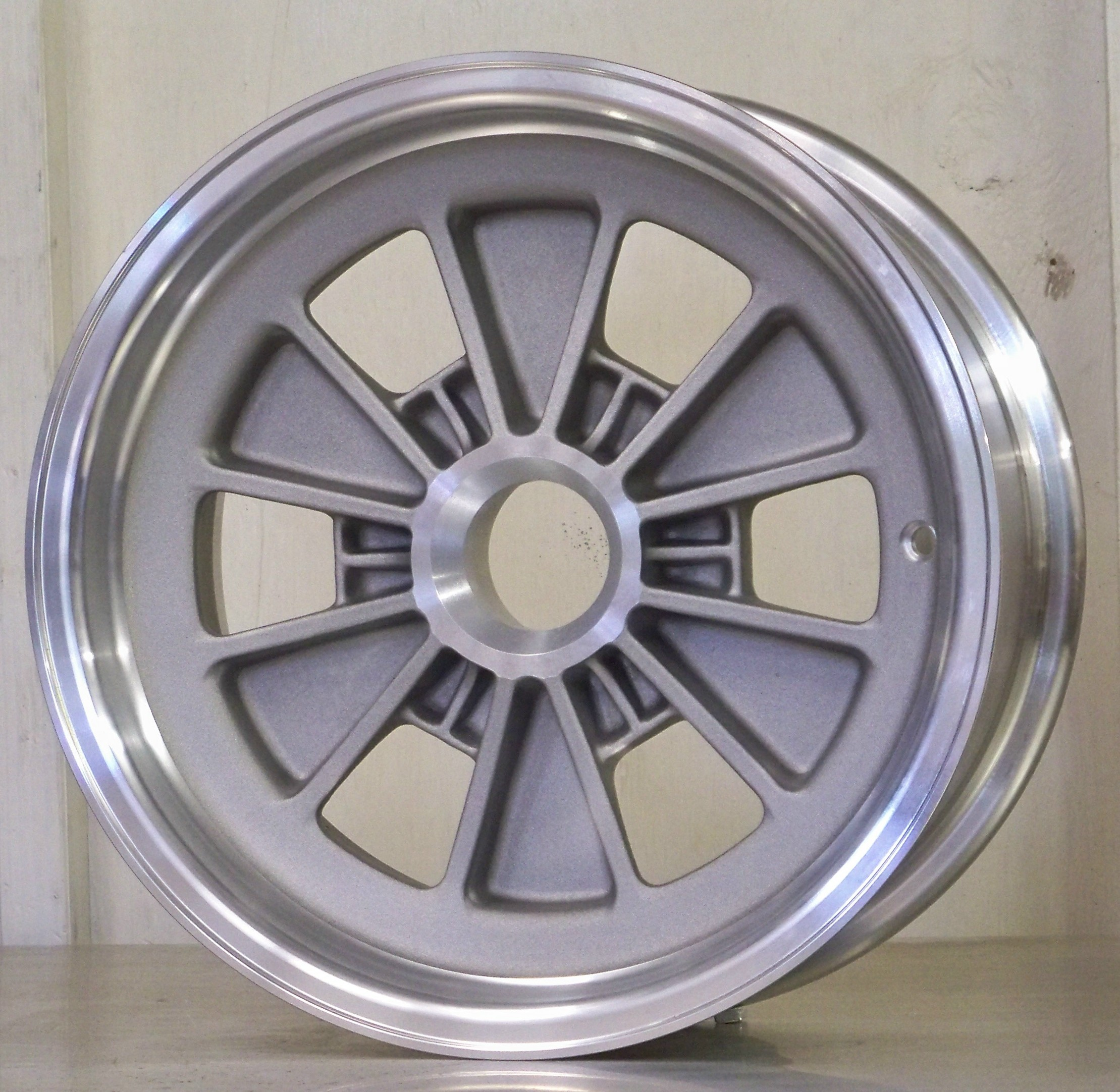 FIA 15 x 7.5 6 pin cast finish