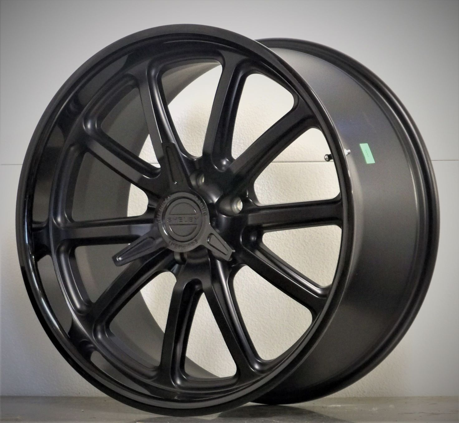 20s set of 4 RSB US Mags Shelby spinner Satin Black 05-20