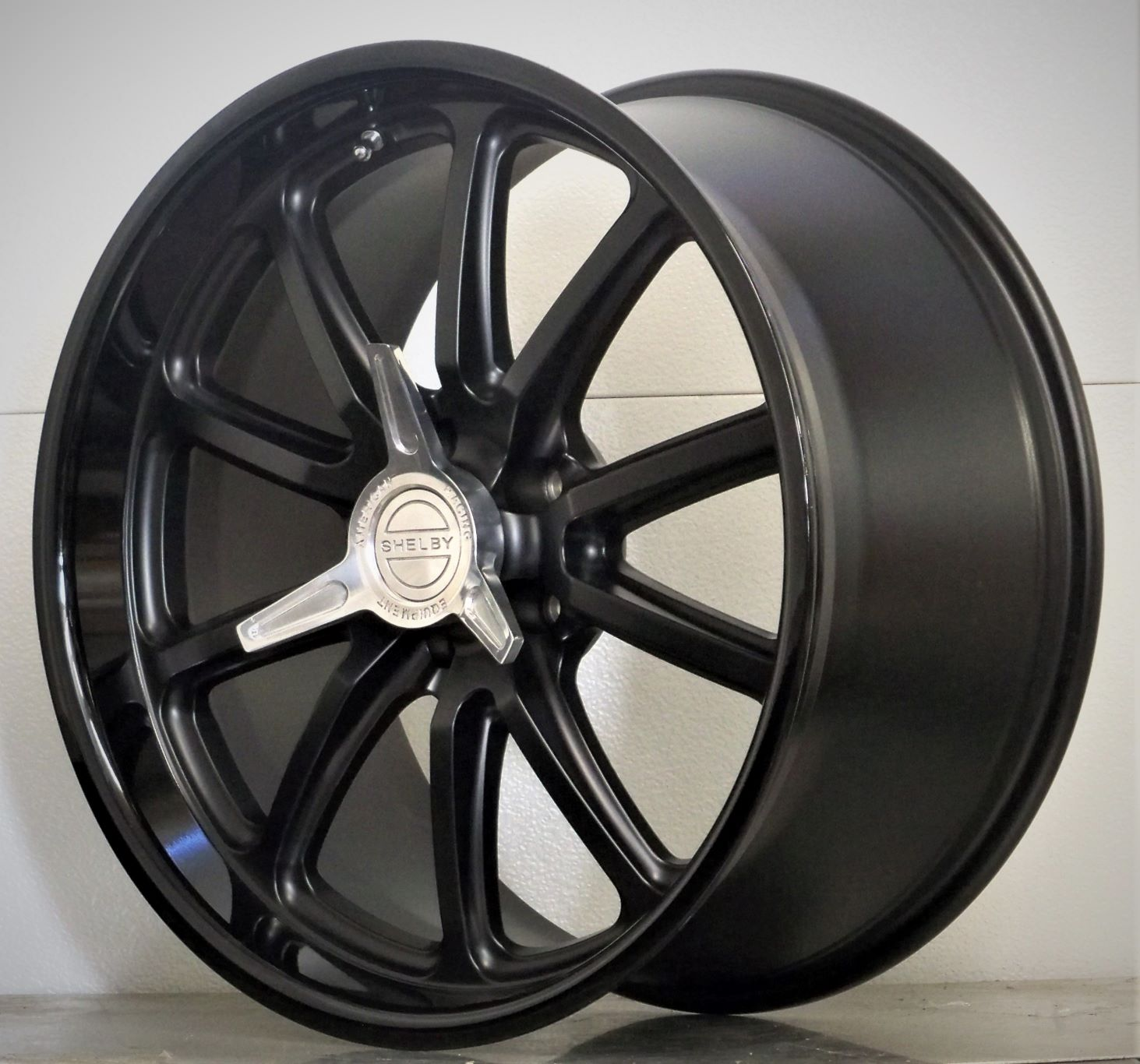 20s set of 4 RSB US Mags Shelby spinners Satin Black 05-20