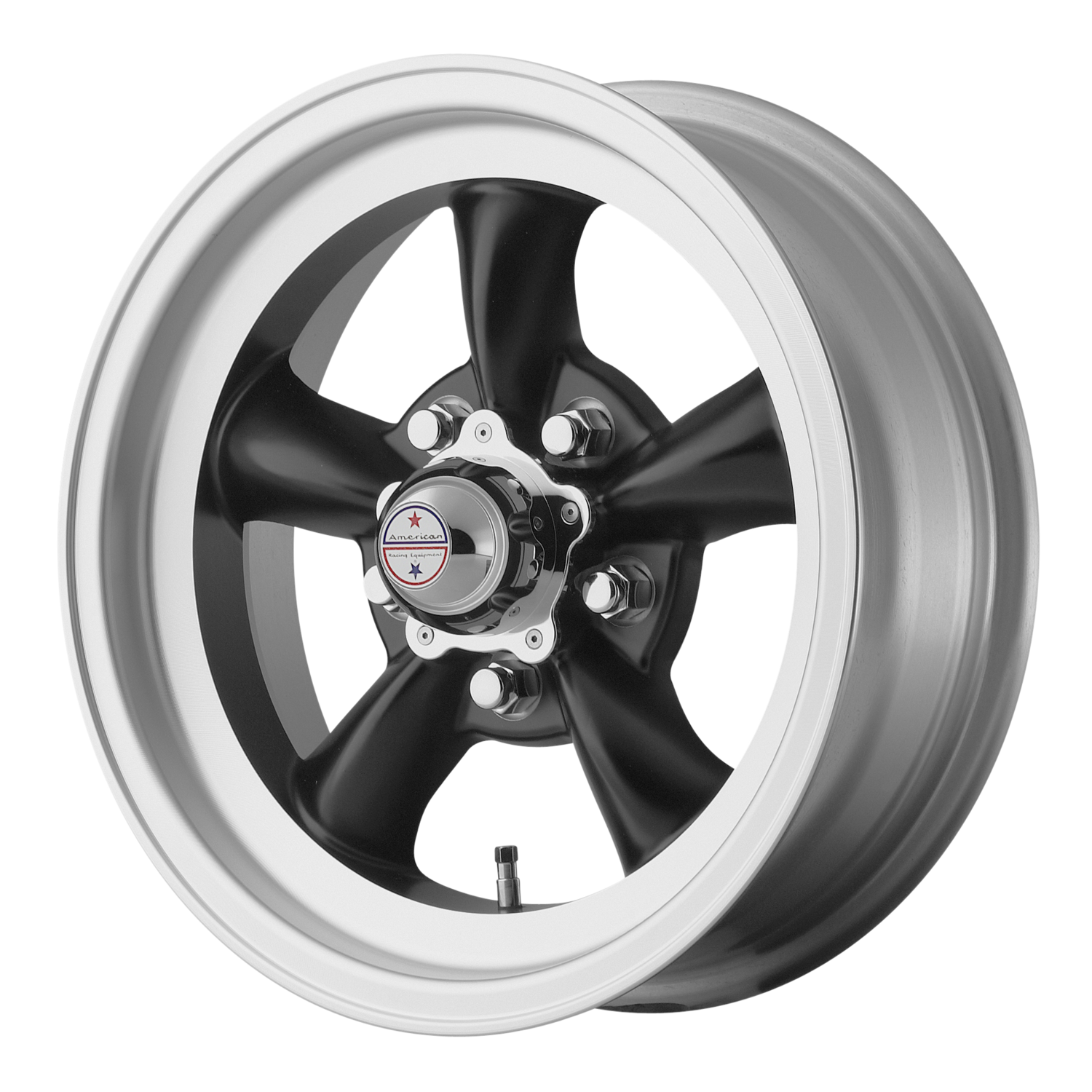 15s SET of 4 VN105 Torq Thrust D gray or black 67-73 Mustang