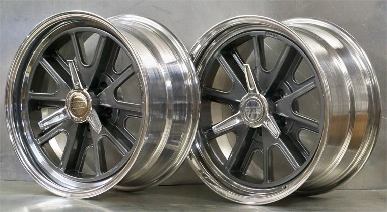 17/18 427 SET OF 4 raked 17x7/18x9 Shelby 65 73 Mustang
