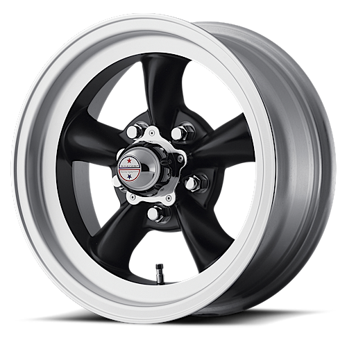 15s SET of 4 VN105 Torq Thrust D gray or black 65-66 Mustang