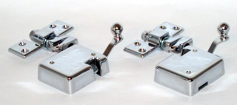Door Latches and Strikers (pair for both doors)