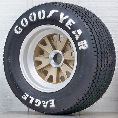 Goodyear Racing Tires >> GOODYEAR® RACING TIRES : Vintage Wheels, Mustang, Hot Rod and Muscle Car