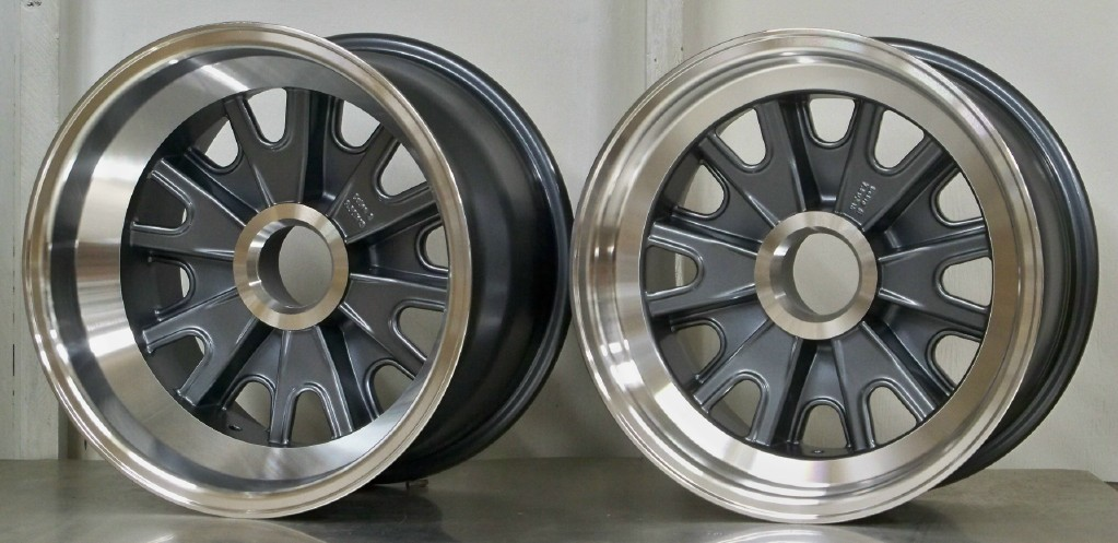 HA02 GT40 and cobra wheels set of 4