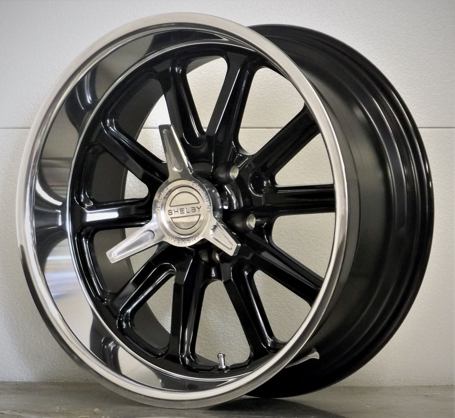 17/18 set of 4 RSB US Mags Shelby spinners gloss black 65-73
