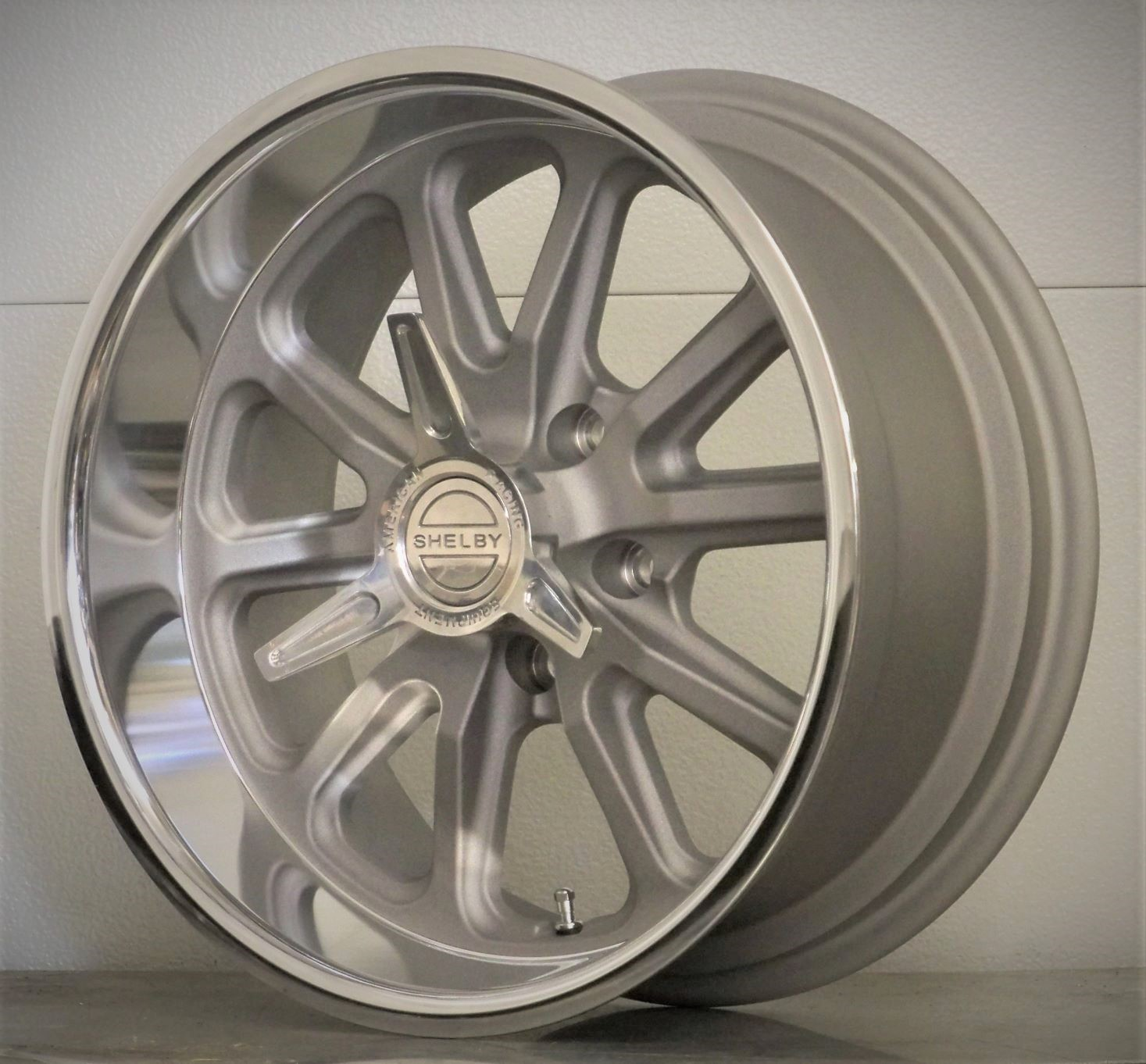 17/18 set of 4 RSS US Mags Shelby spinners silver gray 65-73