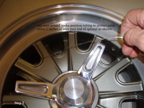 Safety Wiring Procedure for Spinners : Vintage Wheels ... on