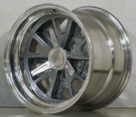 15s Shelby 427 AC set of 4 gray 5 lug for A and C Cobra